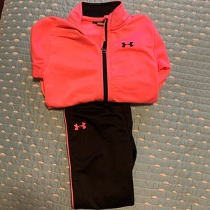 4t girls under armor jacket and pants
